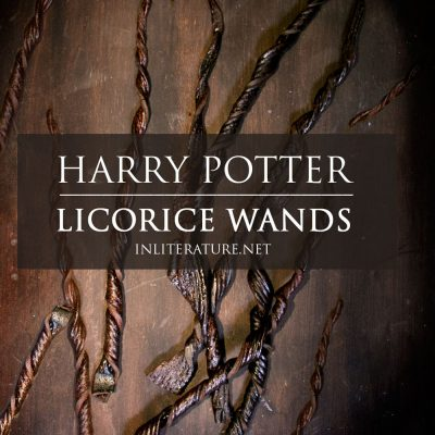 1 Ingredient Licorice Wands | Harry Potter