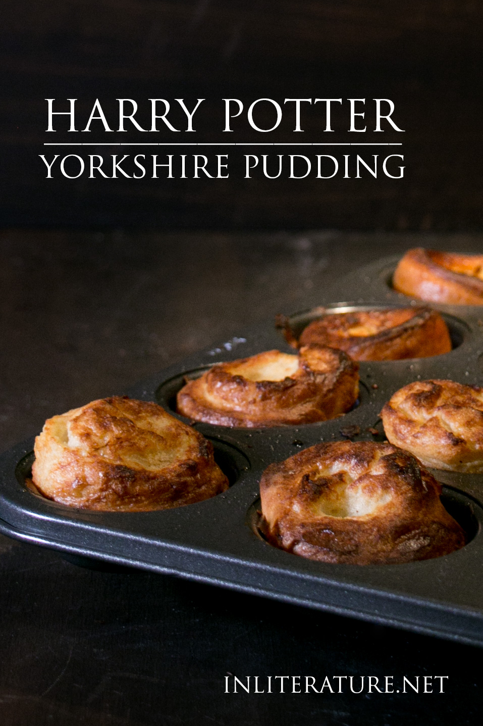 Yorkshire pudding is usually eaten with a Sunday roast (in Harry's case, at Hogwarts), but you can whip up these easy little puffs just because.