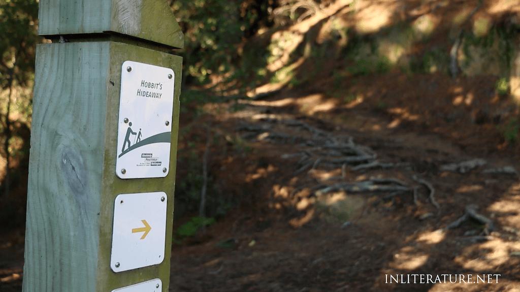 walk to Hobbit's Hideaway in Mount Victoria, Wellington.
