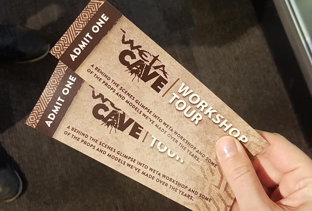 Weta Workshop Cave Tour tickets
