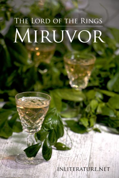 Miruvor | The Lord of the Rings