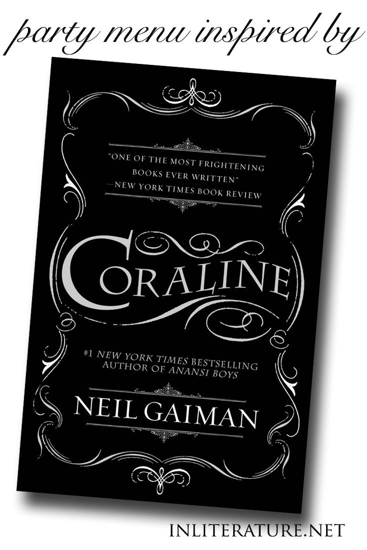 Coraline Party Menu In Literature